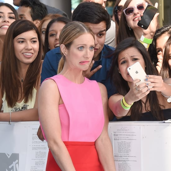 Celebrities Taking Photos With Fans at MTV Movie Awards 2015