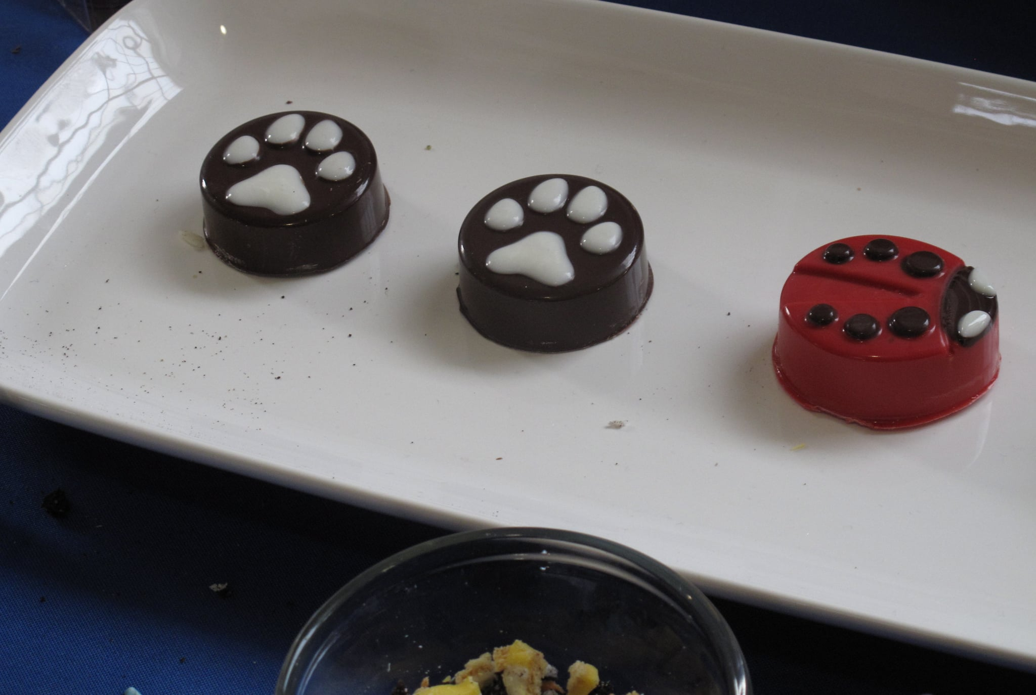 I didn&#039;t enjoy the flavor of these chocolate-covered Oreos, but I couldn&#039;t get over how cute they looked!<br />