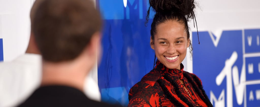 Alicia Keys and Alessia Cara Wore No Makeup to the VMAs and Seriously Stunned