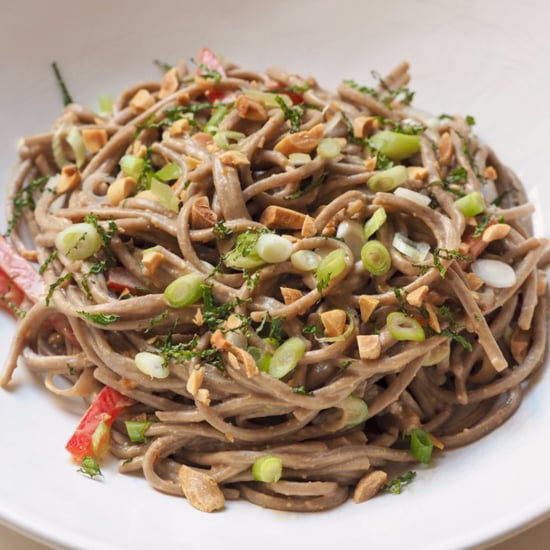 Soba Noodles With Peanut Sauce and Chicken