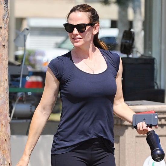 Jennifer Garner Working Out in LA June 2016