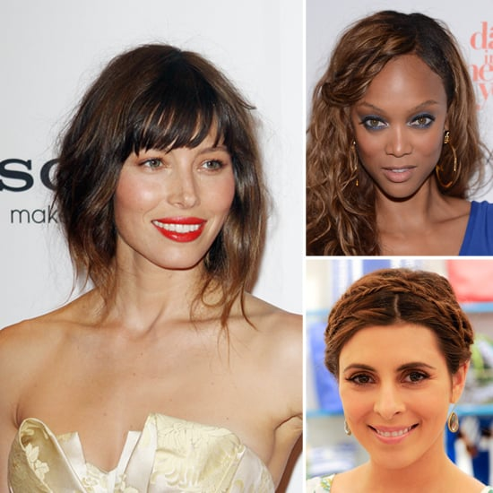 Tyra Banks Ponytail Hairstyles: Jessica Biel, Tyra Banks And Jamie-Lynn Sigler Quick-Fix