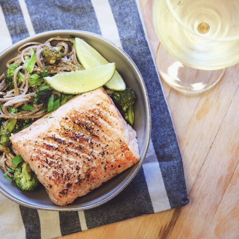 fast and easy sous vide salmon recipe popsugar food. Black Bedroom Furniture Sets. Home Design Ideas