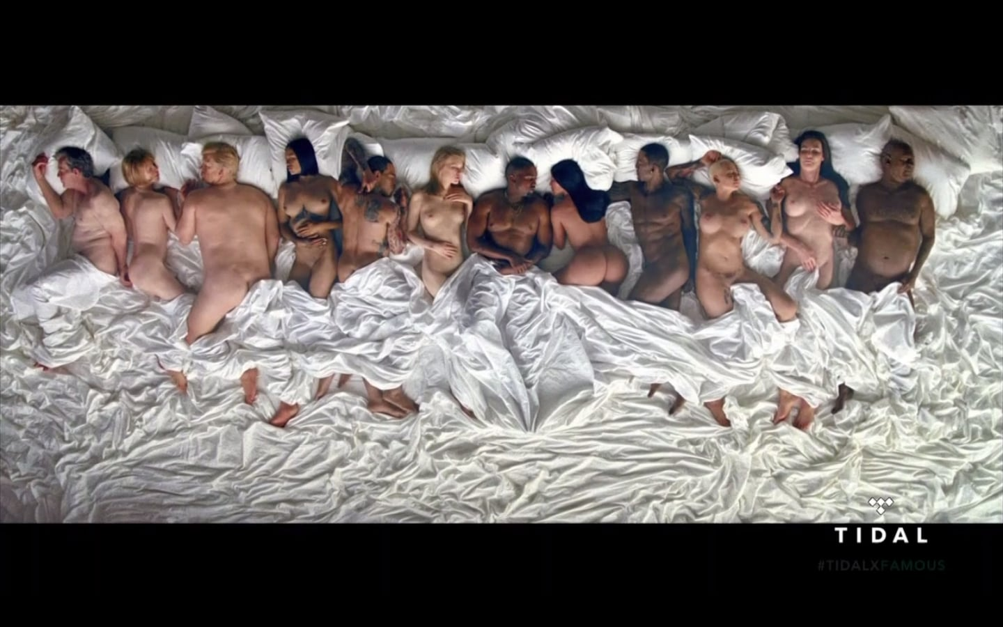 Kanye West Famous Video Naked