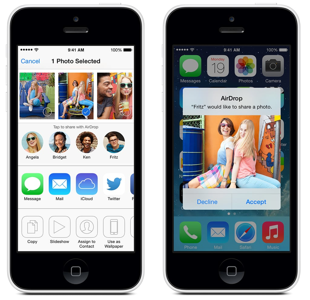 how to use airdrop on iphone how to iphone airdrop popsugar tech 742