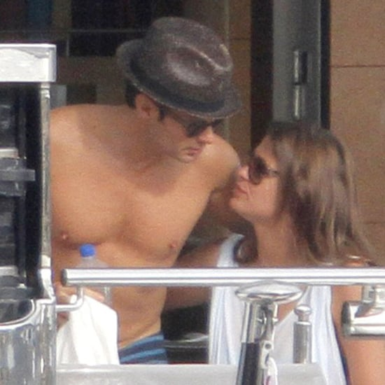 Ryan Seacrest Shirtless With Dominique Piek | Pictures