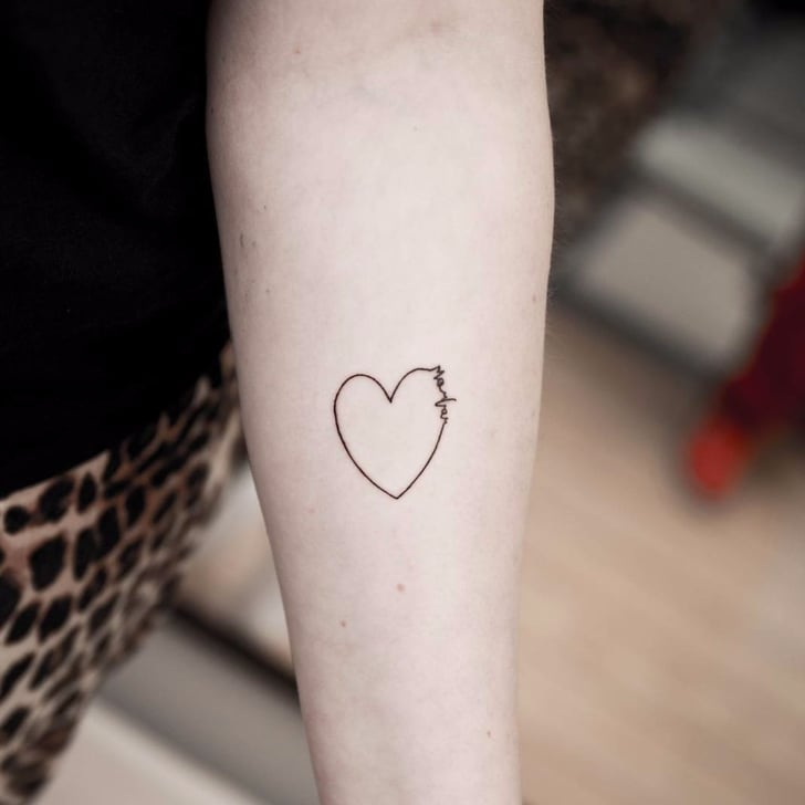 heart tattoo ideas popsugar beauty uk. Black Bedroom Furniture Sets. Home Design Ideas