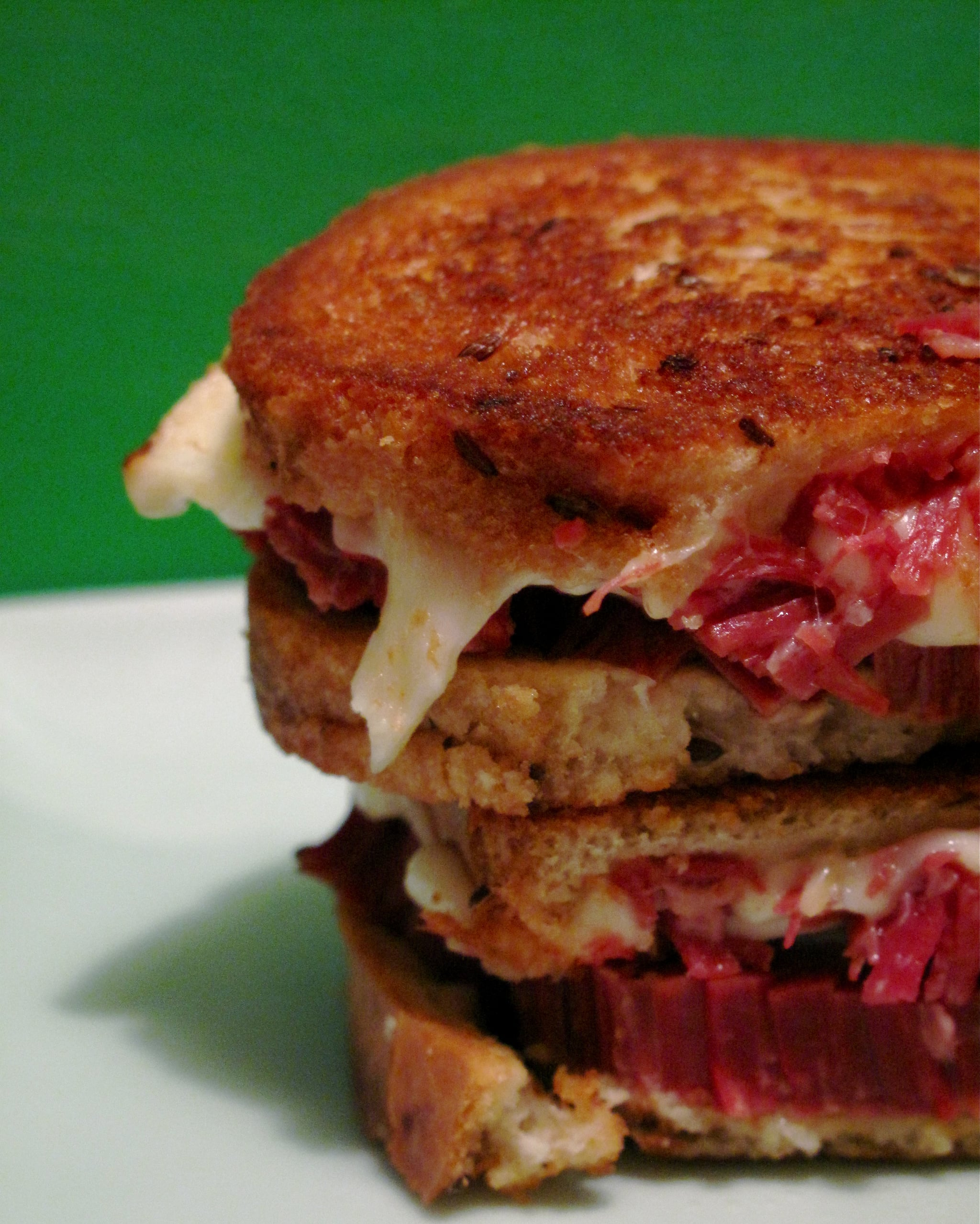 Corned Beef and Fontina Grilled Cheese Recipe | POPSUGAR Food