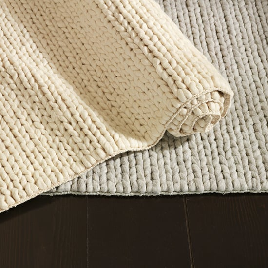 West Elm Rug Shedding: Nice And New: West Elm Chunky Plaited Wool Rug