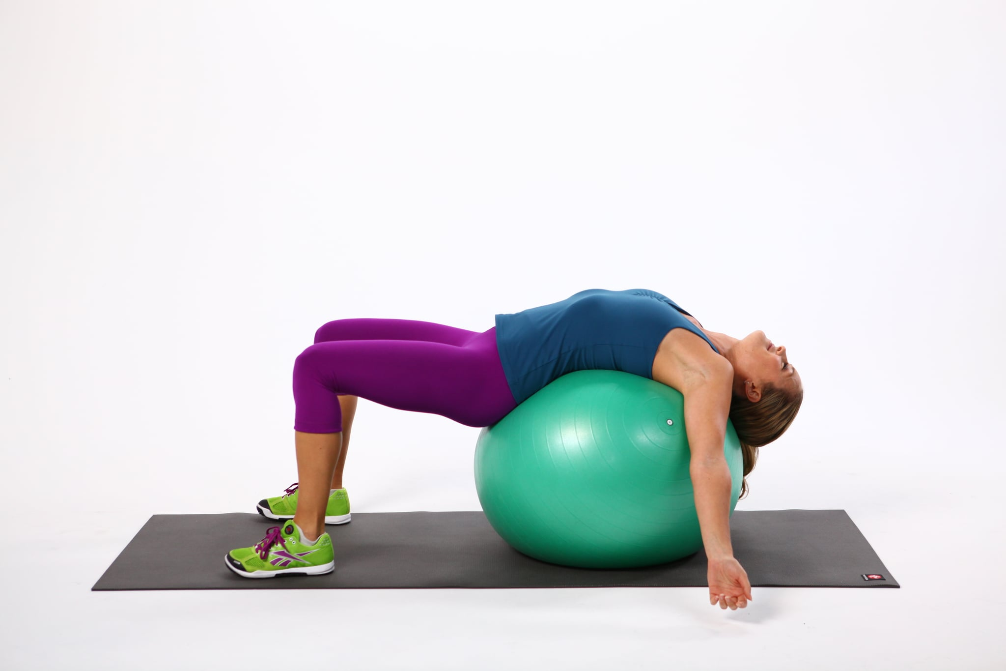 How to Stretch Your Back Using an Exercise Ball