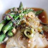 Cod With Asparagus in Parchment Paper Recipe