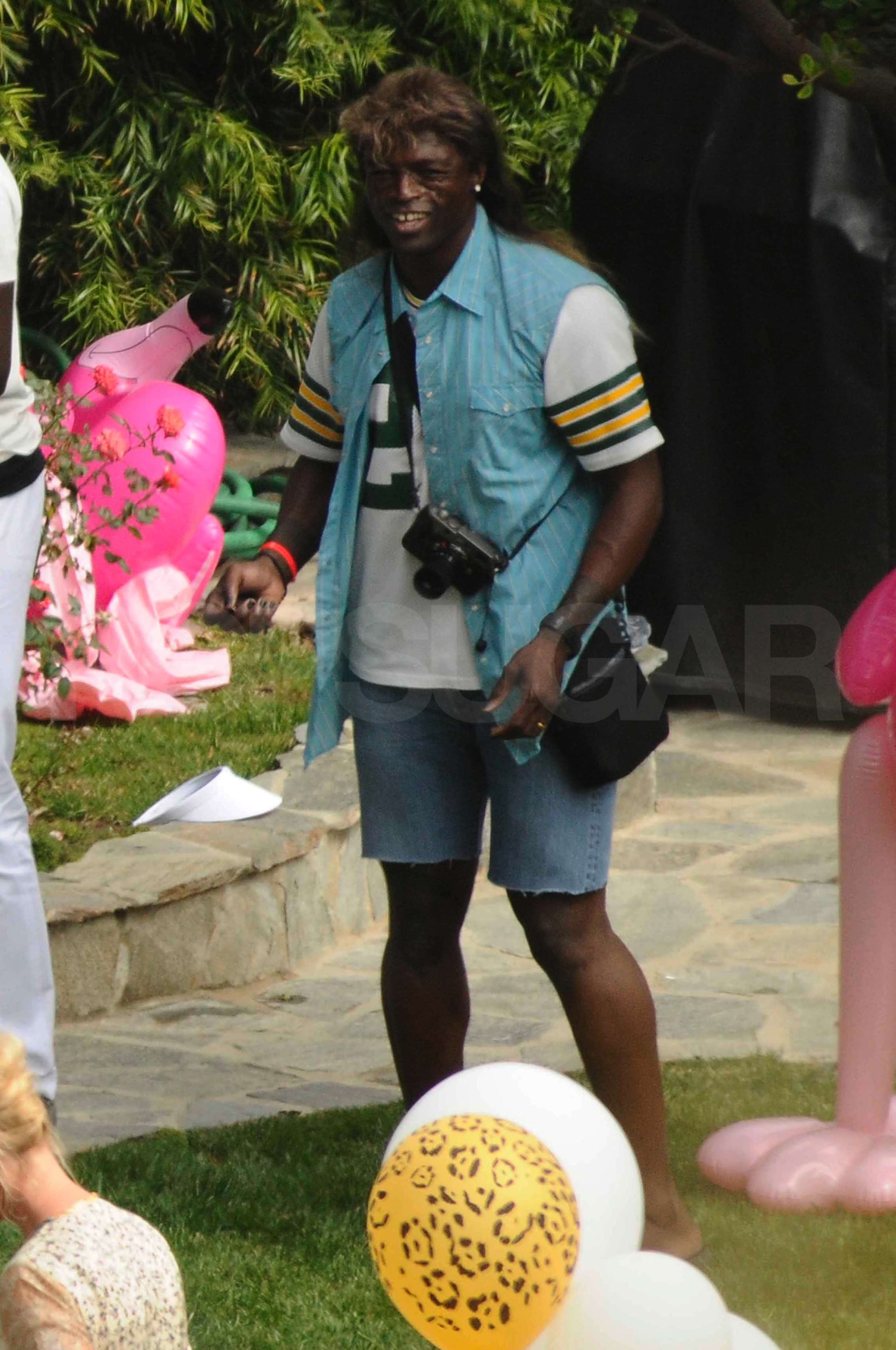 Blogger of the Bride: Heidi & Seal renewed their vows - again  White Trash Wedding Guests