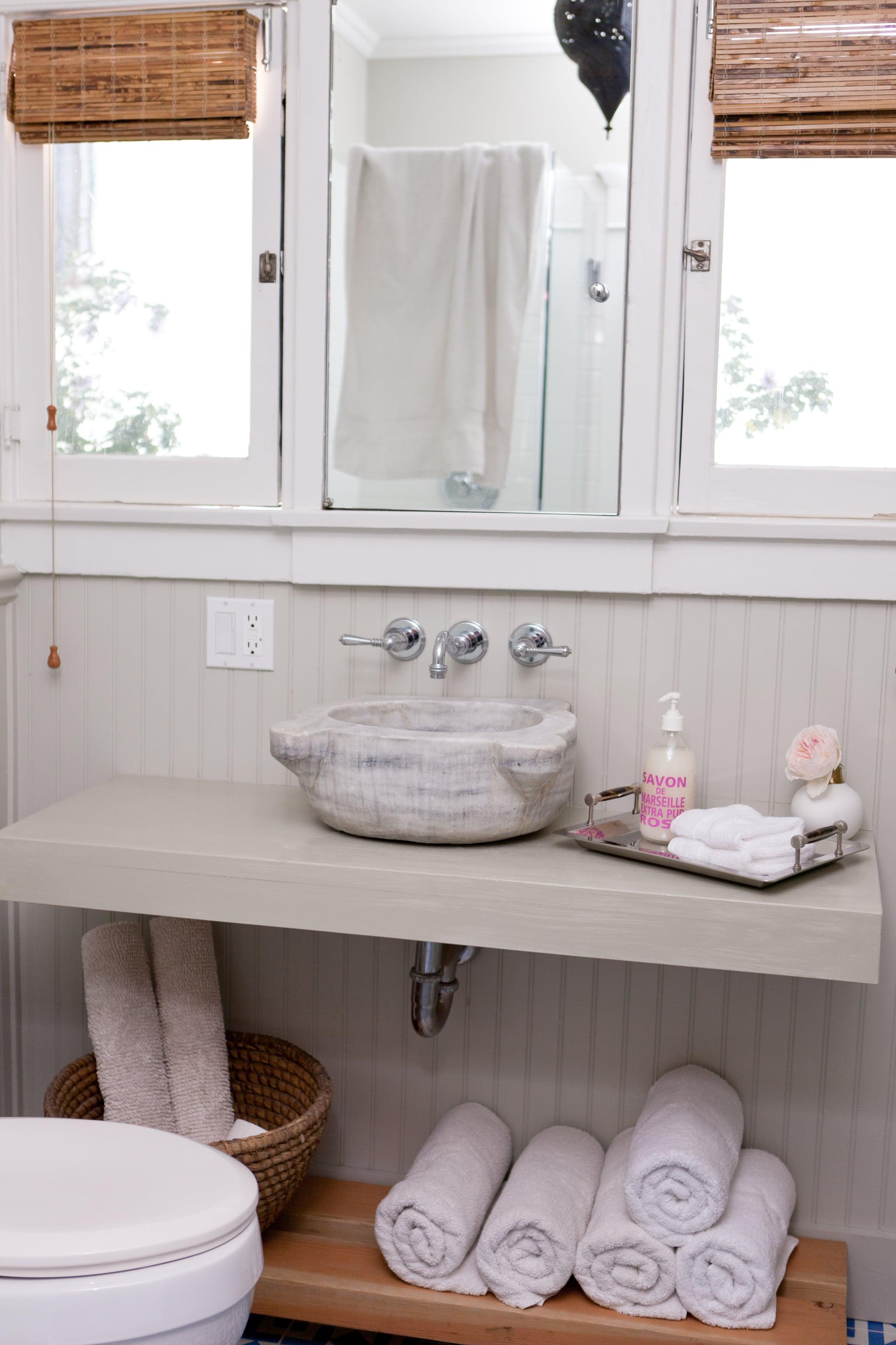 Lessons from a diy bathroom reno popsugar home australia for Shared bathroom ideas