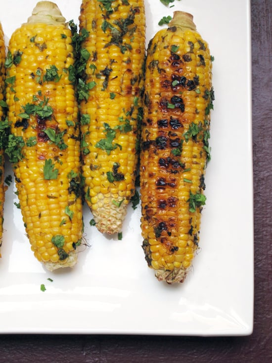 Grilled Corn With Cilantro Butter | POPSUGAR Food