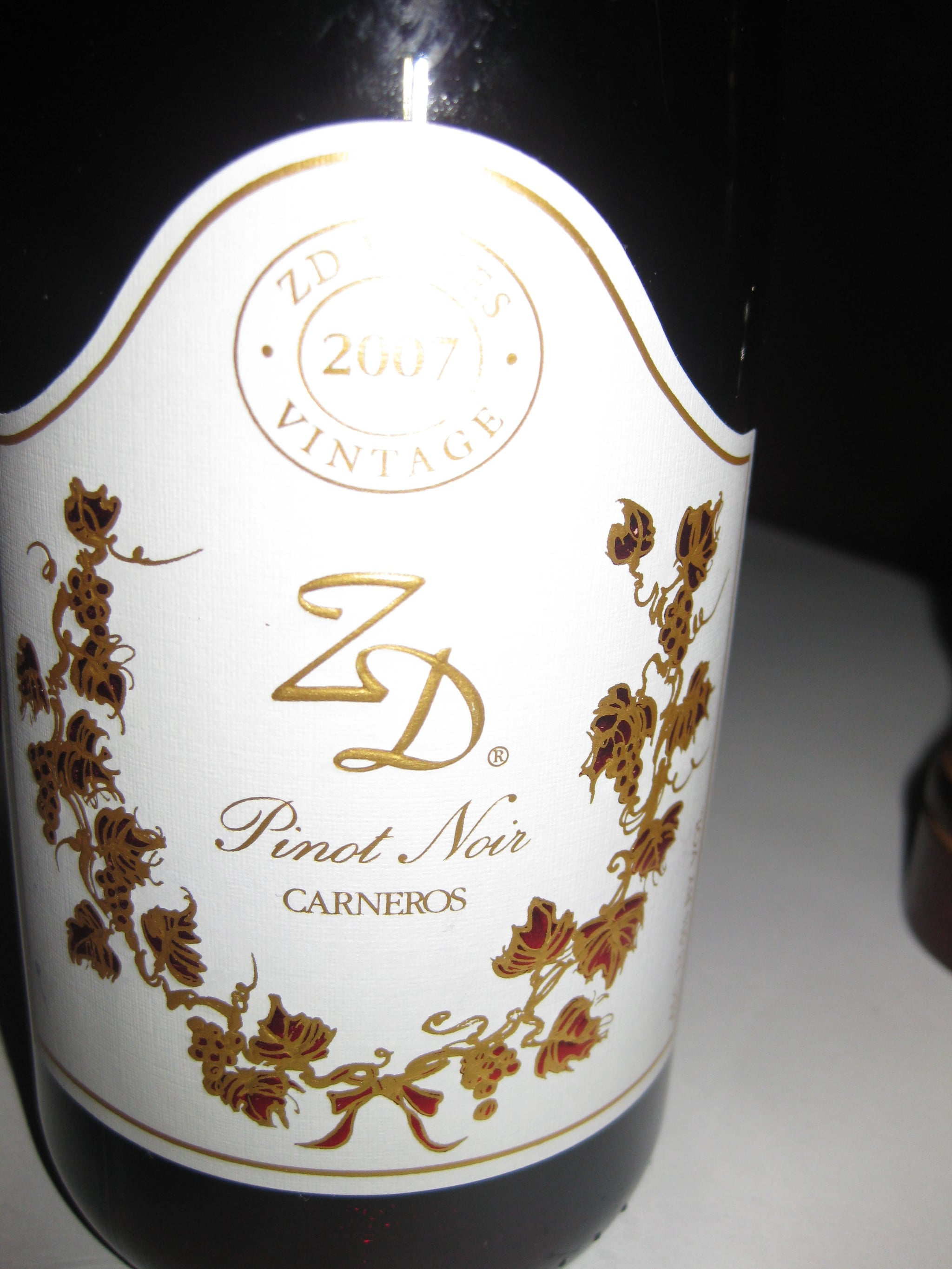 One of the superb wine's I tasted at Scala's Bistro.
