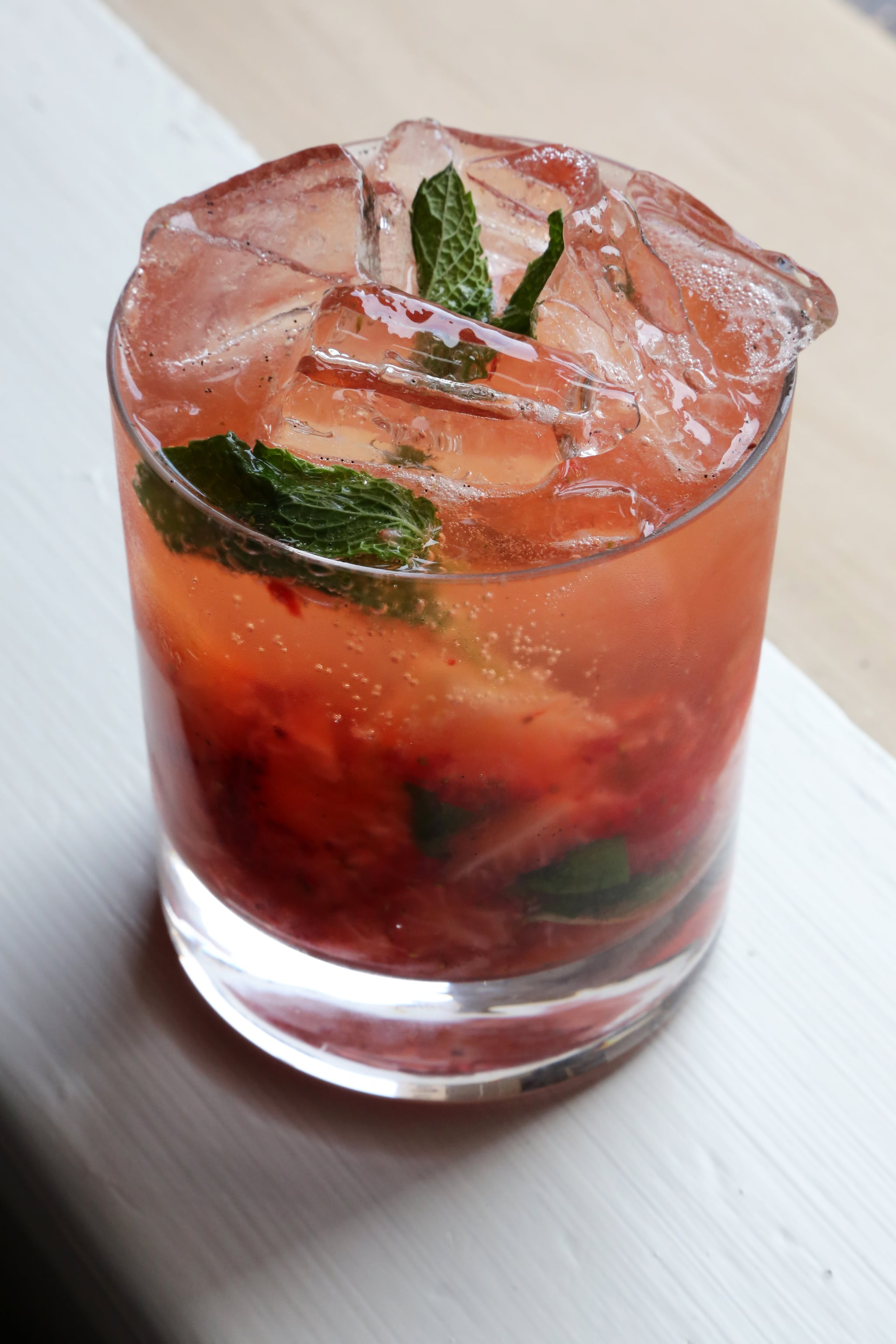 All The Pasta You Can Eat With Olive Garden S Never Ending: Easy Strawberry-Bourbon Cocktail
