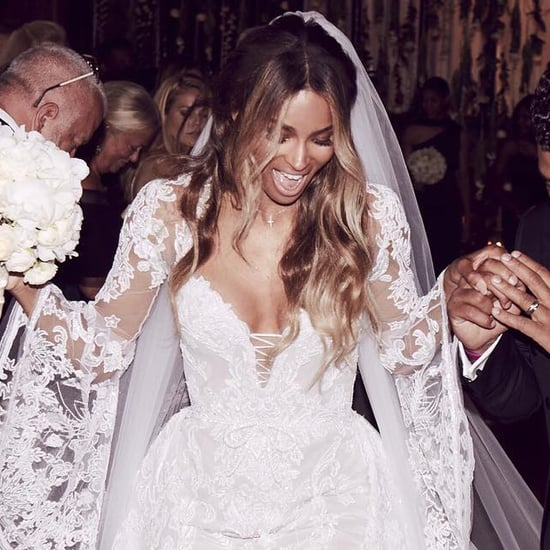Ciara's Cavalli Couture Wedding Dress