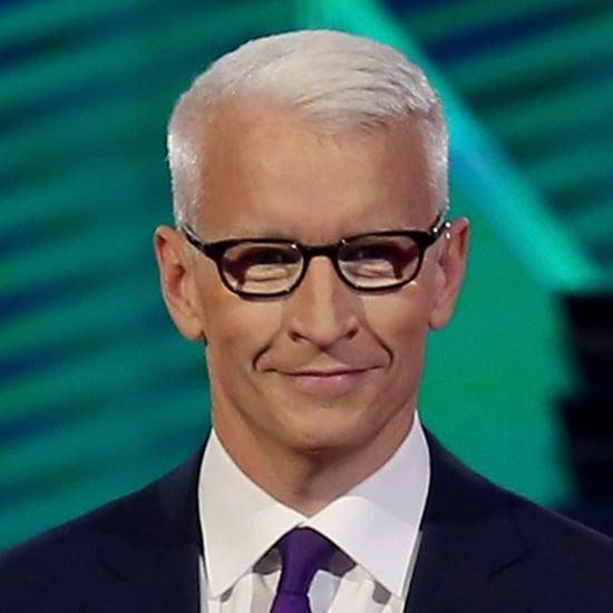 Anderson Cooper's Glasses at the Democratic Debate