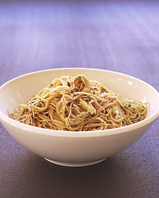 Chinese Noodles with Sesame Dressing