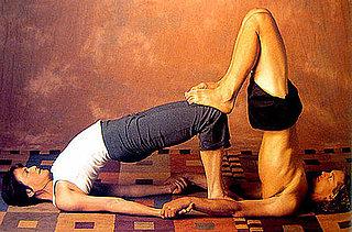 partner yoga  popsugar fitness